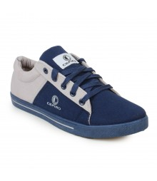 Cefiro Men Casual Shoes Fun07 Navy Blue Grey CCS0030
